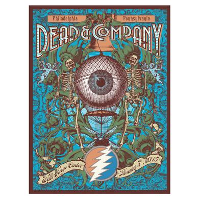 Dead & Company Philadelphia Pennsylvania Exclusive Event Poster