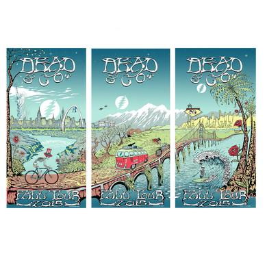 Grateful Dead Limited Qty Available!  Dead & Company Across America 2015 Poster