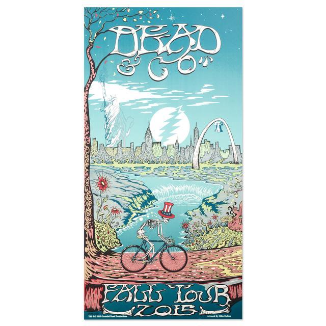 Grateful Dead Dead & Co Poster - Leg 1
