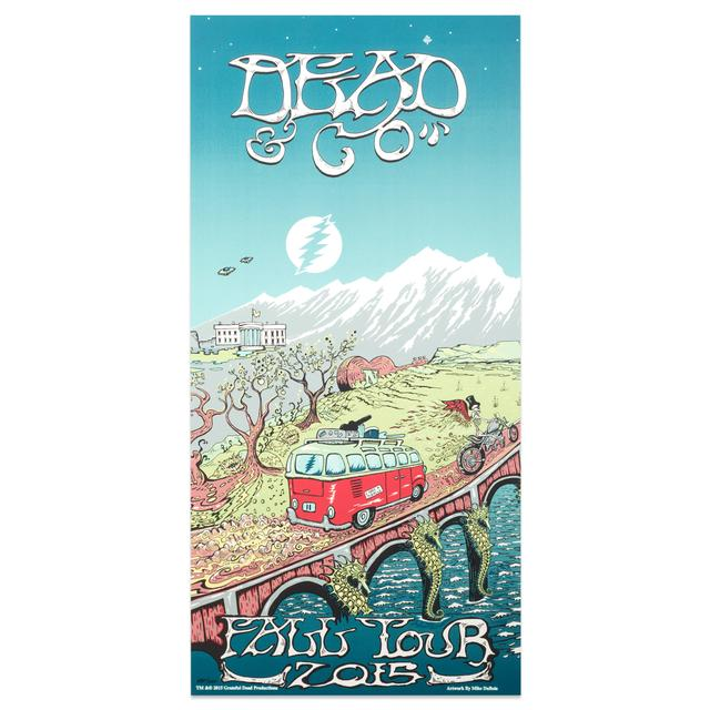 Grateful Dead Dead & Co Poster - Leg 2