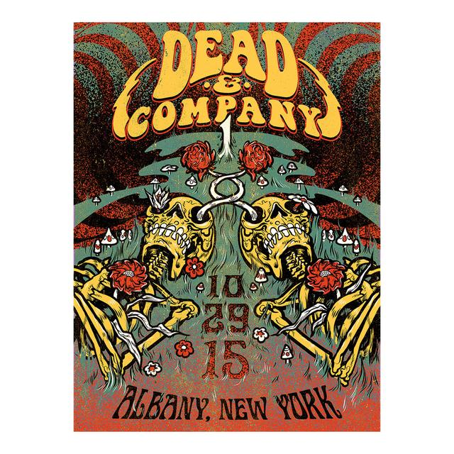 Grateful Dead Albany, New York Exclusive Event Poster