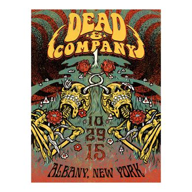 Dead & Company Albany, New York Exclusive Event Poster