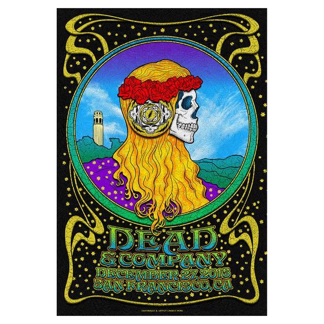 Grateful Dead San Francisco, California Night 1 Exclusive Event Poster
