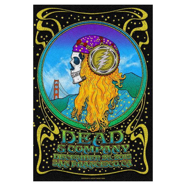 Grateful Dead San Francisco, California Night 2 Exclusive Event Poster