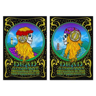 Dead & Company San Francisco, CA Combined Exclusive Tour Poster