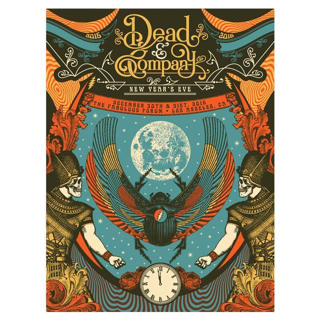 Grateful Dead LA Event Poster