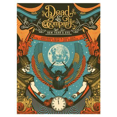 Dead & Company LA Event Poster