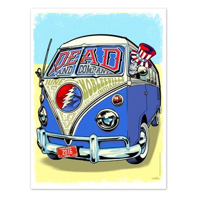 Dead & Company Noblesville, Indiana Exclusive Event Poster