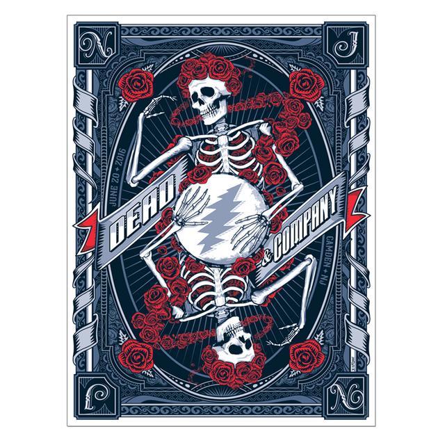 Grateful Dead Camden, NJ Exclusive Event Poster