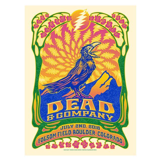 Grateful Dead Boulder, Colorado Night 1 Exclusive Event Poster