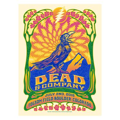 Grateful Dead Boulder, Colorado Night 1 Exclusive Event Poster