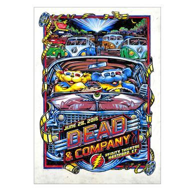 Grateful Dead Hartford, CT Exclusive Event Poster