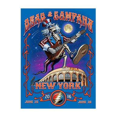 Grateful Dead New York, NY Exclusive Event Poster