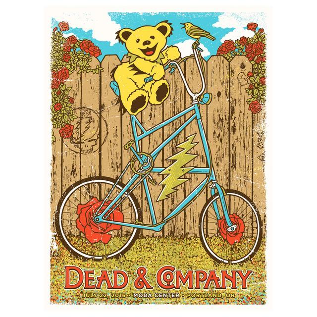 Grateful Dead Portland, Oregon Exclusive Event Poster