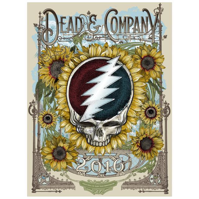 Grateful Dead Chula Vista, CA Exclusive Event Poster