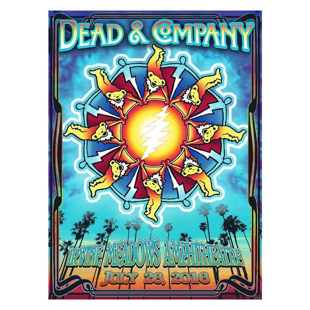 Grateful Dead Irvine, CA Exclusive Event Poster