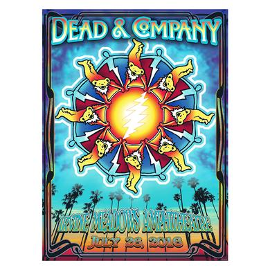 Grateful Dead Irvine, CA Exclusive Event Poster
