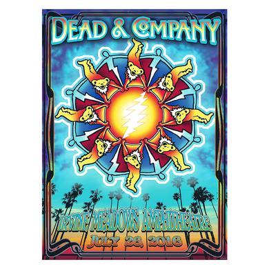 Dead & Company Irvine, CA Exclusive Event Poster