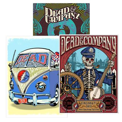 Dead & Company Exclusive Offer! 3 Event Posters for $100