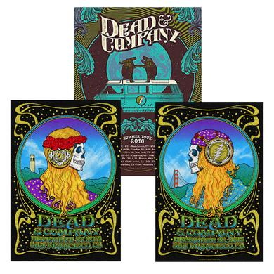 Dead & Company Exclusive Event Posters Bundle!
