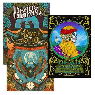 Dead & Company Exclusive Event Posters bundle!