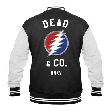 Grateful Dead Dead and Company Varsity Jacket