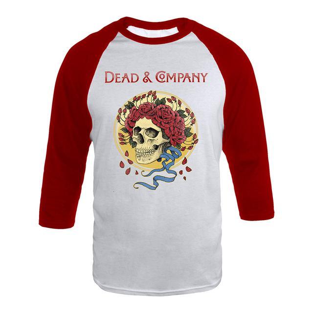 Grateful Dead Dead & Company Rose Crown Raglan