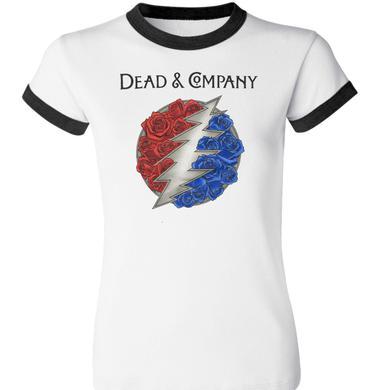 Grateful Dead Dead & Company Logo Ringer Tee