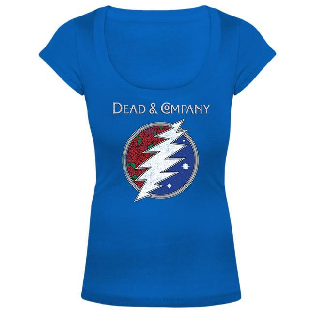 Grateful Dead Dead & Company Logo Ladies Tee