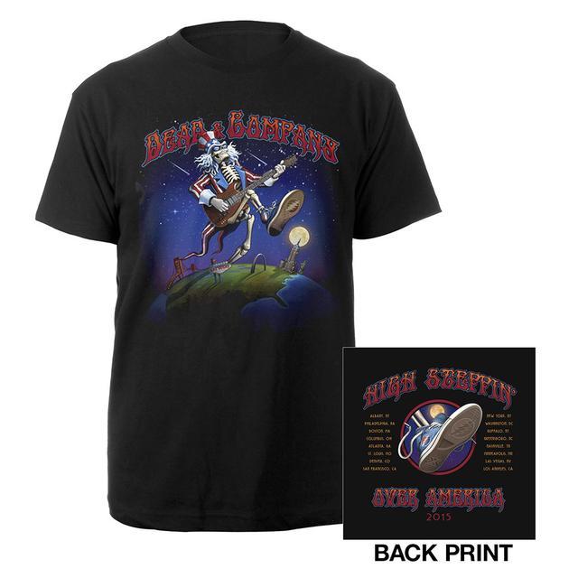 Grateful Dead High Stepping Over America Shirt