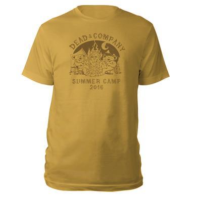 Grateful Dead Summer Camp Gold Tee