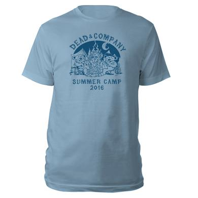 Dead & Company Youth Summer Camp Light Blue Tee