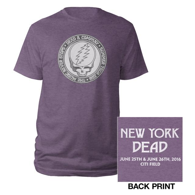 Grateful Dead New York, NY Stealie Event Tee