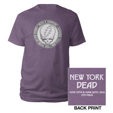 Dead & Company New York, NY Stealie Event Tee