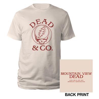 Grateful Dead Mountain View, CA Stealie Event Tee