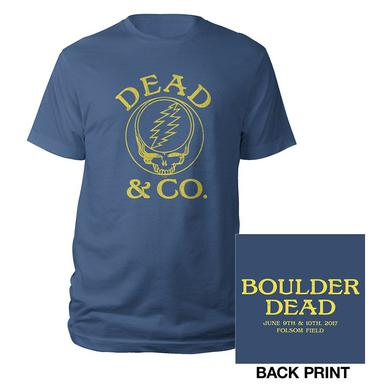 Dead & Company Boulder, CO Stealie Event Tee