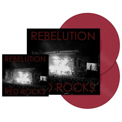 Easy Star Records Rebelution Live At Red Rocks CD/DVD + Limited Edition Colored 2-LP Vinyl Bundle