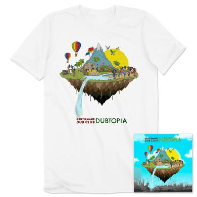 Easy Star Records Gentleman's Dub Club Dubtopia CD + T-Shirt Bundle