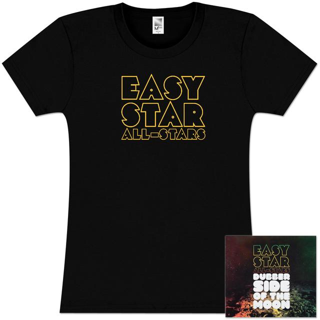 Easy Star Records Dubber Side of the Moon CD and Women's T-Shirt