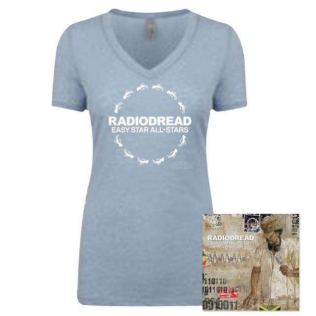 Easy Star Records Radiodread Special Edition CD and women's T-Shirt Bundle