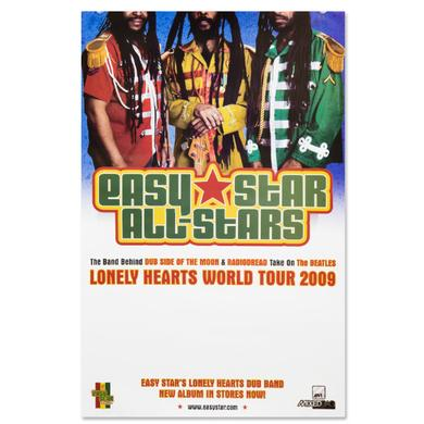 Easy Star Records Easy Star's Lonely Hearts Dub Band Poster