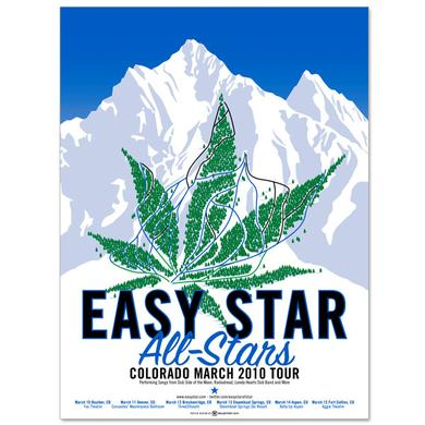 Easy Star Records Easy Star All-Stars Colorado 2010 Tour Poster