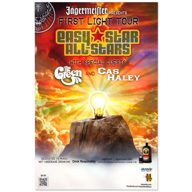 Easy Star Records First Light Spring Tour Poster