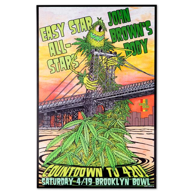 Easy Star Records Easy Star All-Stars / John Brown's Body Countdown To 4/20 Poster