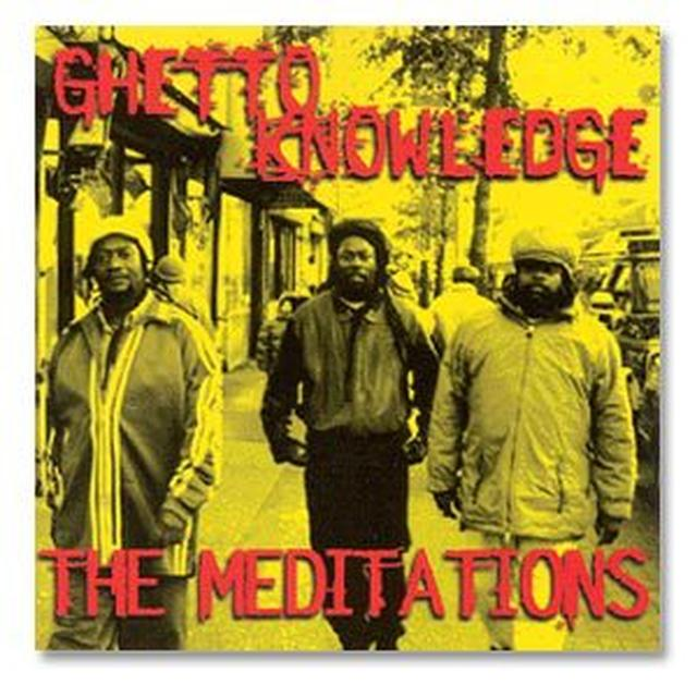 Easy Star Records The Meditations, Ghetto Knowledge CD