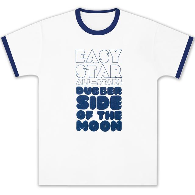 Easy Star Records Dubber Side of the Moon White/Navy Ringer T
