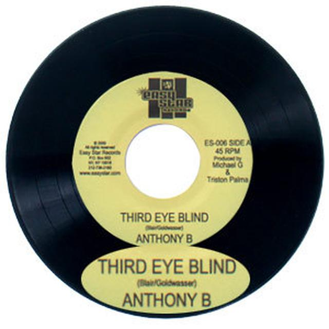"Easy Star Records Anthony B. ""Third Eye Blind"" 7"" vinyl single"