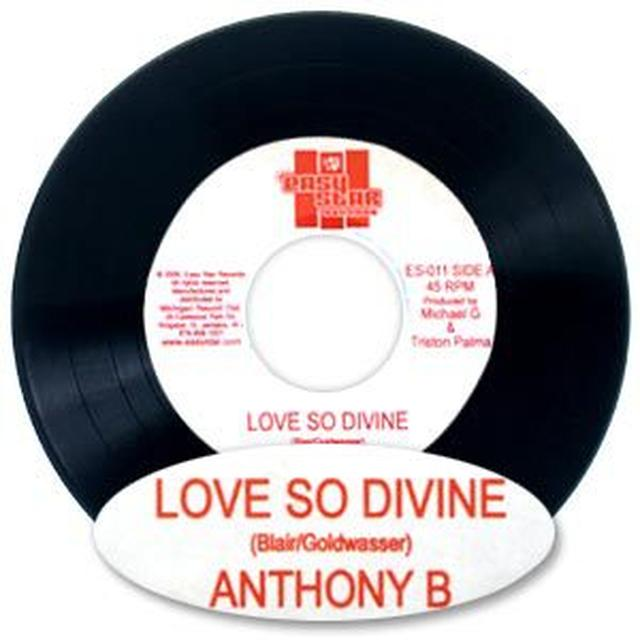 "Easy Star Records Anthony B ""Love So Divine"" 7"" Vinyl Single"