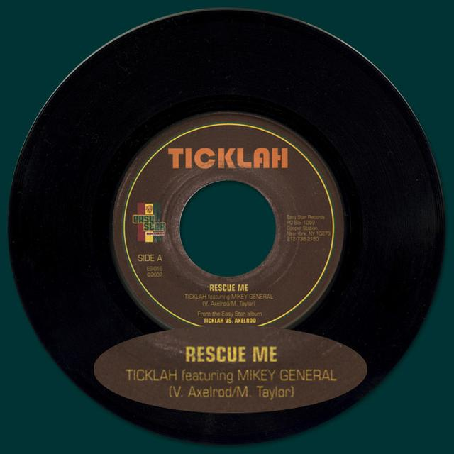 "Easy Star Records Ticklah featuring Mikey General - Rescue Me 7"" Vinyl Single"