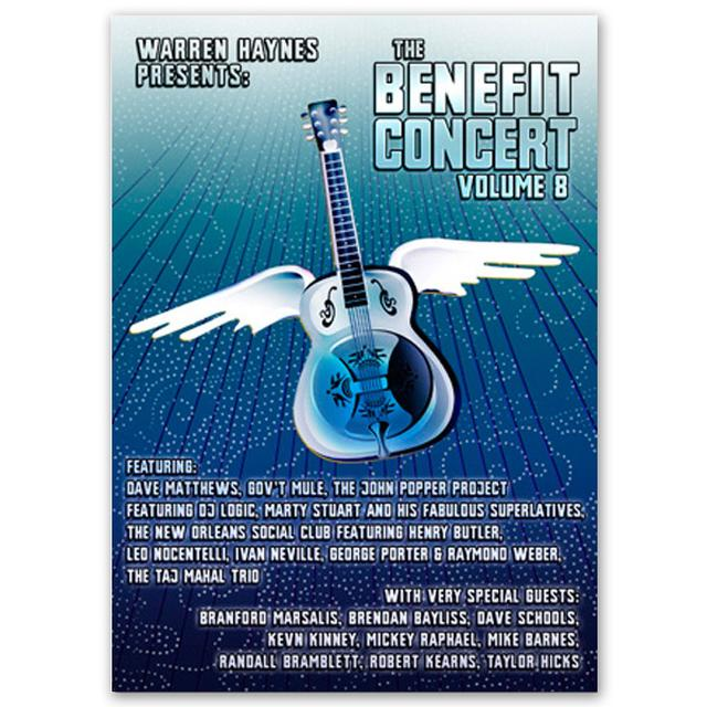 Evil Teen Records Warren Haynes Presents: The 2006 Benefit Concert Volume 8 DVD